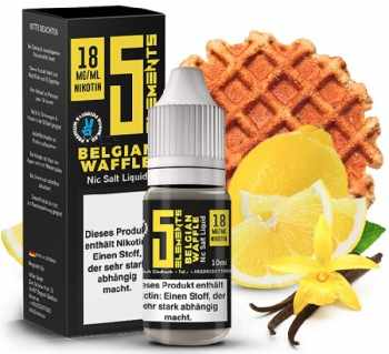 5 ELEMENTS Belgian Waffle Nikotinsalz 18mg/ml