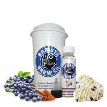 Barista Brew Cinnamon Glazed Blueberry Scone Liquid 50 ml