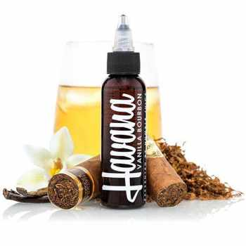 Havana Juice Vanilla Bourbon Tobacco Plus US Premium Liquid 100 ml