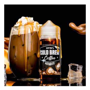 NITRO`S Cold Brew Coffee Macchiato US Premium Liquid 100ml