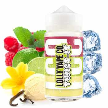 LOLLY VAPE Twist It on Ice UK Premium Liquid 80 ml
