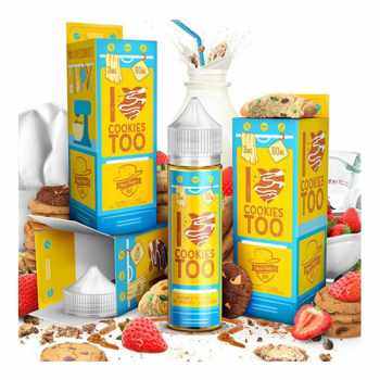 I Love Cookies Too US Premium Liquid 50 ml