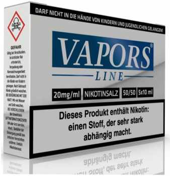 ! VAPORS LINE Nikotinsalz 20mg Liquid 5x10ml