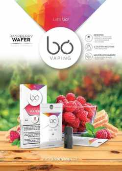 JW bo raspberry wafer