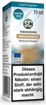 SC American Tobacco 20mg/ml Nikotinsalz Liquid 10ml