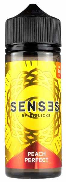 Senses by Six Licks Peach Perfect Premium Liquid 100ml