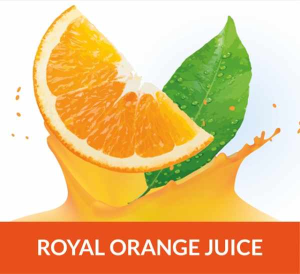 Orangensaft Royal